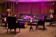 Party Lounge Setting in our Treasury Room on the 19th Floor- Park Hyatt Melbourne #Hyattweddings
