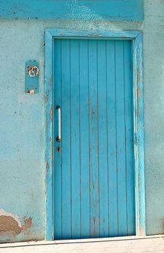 Beach Door Blue of Barcelona