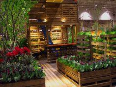 pallet gardening | Pallet Garden Planters