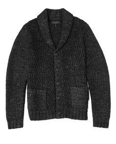rag and bone shawl collar cardigan