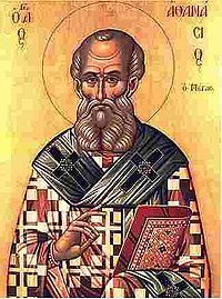 Althanasius of Alexandria  Pope of Alexandria; Confessor and Doctor of the Church