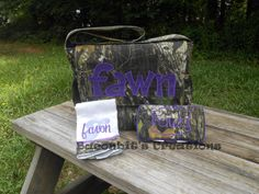 Hey, I found this really awesome Etsy listing at http://www.etsy.com/listing/125846168/camo-diaper-bag-set-with-matching-wipe