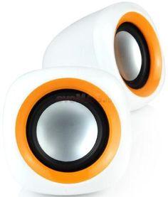 Boxe SP303 (Portocaliu) la Pret Atractiv - Componente Pc > Boxe Enzatec