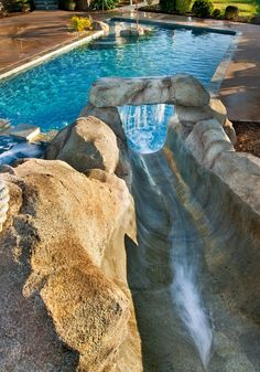 Luxury Homes Outdoors Pools & Spas