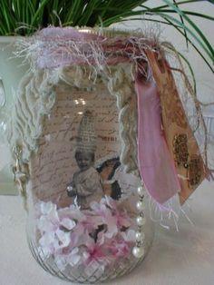 Altered Art Fairy Jar