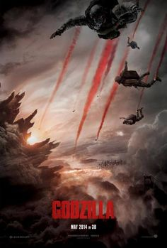 New Godzilla 2014 Movie Poster!
