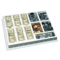 Amazon.com: Play Money: Coins and Bills Deluxe Set: Toys & Games