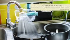 How to Wash Dishes Using the Smallest Amount of Water Possible - Eat Drink Better