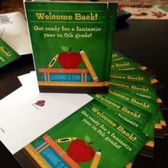 Welcome students back with a card made just for them.