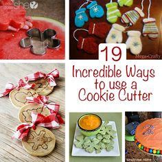 19 Incredible Ways to use a Cookie Cutter howdoesshe.com