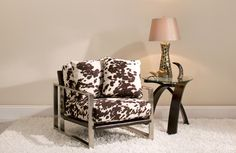 Tanner Accent Chair | This microfiber accent chair is fully loaded with comfort and contemporary style.