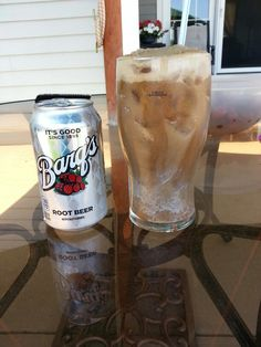 Root Beer float for adults..one shot of Rum Chata, two shots of UV vanilla and root beer.