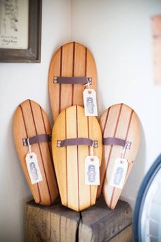 Hand planes by GULLY, exclusively for Almond Surfboards