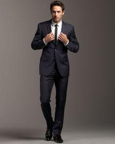 pinstrip suit, men cocktail attire, recommend pinstrip, style, mens cocktail attire, cocktail attire men, men fashion, high fashion, dolc