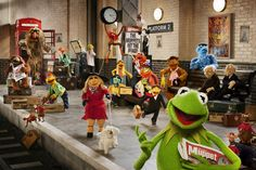 It's The Muppets…Again! Pictures and information about the new movie!