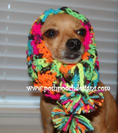 Black Light Dog Cowl