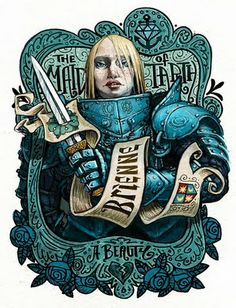 Brienne, from  AGoT #asoiaf #got #agot