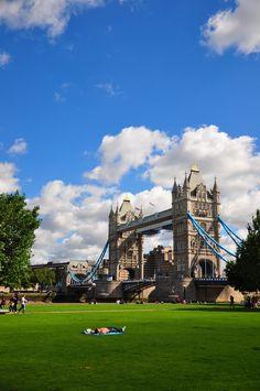 Tower Bridge, London - UK via: Behind The Lens Lukey #travel #photography
