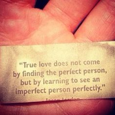 trust and love.