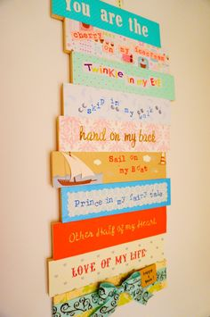 Anniversary gift idea! Made this #wall #plaque to celebrate my #anniversary with my #boyfriend. whimsypaper.com
