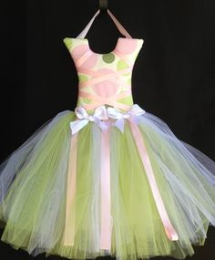 Spring Pastel Tutu Bow Holder from Picsity.com