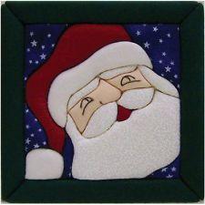 """Quilt Magic Santa Quilt Magic Kit 6""""X6"""""""