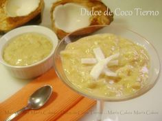 Dominican Young Coconut Dessert / Dominican DULCE de COCO TIERNO