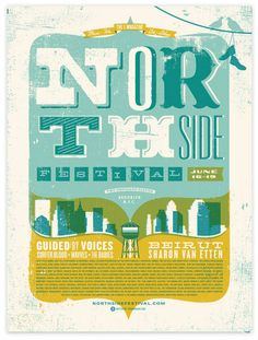 Northside Posters designed by Two Arms
