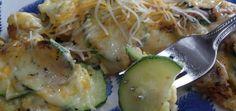 Zucchini Potato omelet