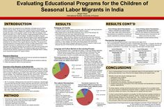 GPSC Student Showcase 2011: Evaluating Educational Programs for the Children of Seasonal Labor Migrants in India