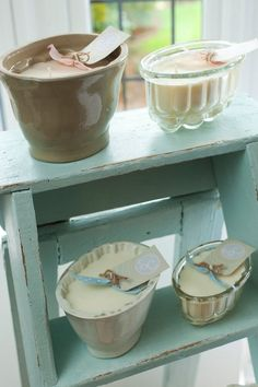 Beautiful Vintage Jelly Mould Serendipity Candles