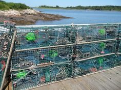 Lobster traps, Kennebunkport, ME