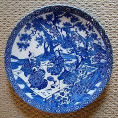 blue & white imari