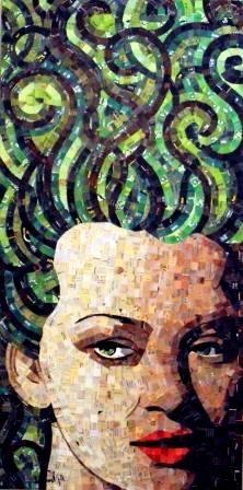 mothers, mothernatur, inspiration, mosaics, de mosaic, art de, schimmel art, hair, mother nature