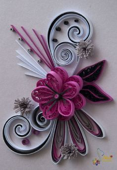 Quilling art by Neli