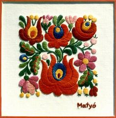 Matyo himzes (hungarian embroidery)