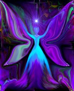reiki energy fairy fantasy print fairi fantasi, angel wings, angel art, energi angel, blue angels