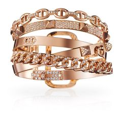 Exceptional Jewelry Hermès Alchimie Hermes Bracelet ($139,000) ❤ liked on Polyvore