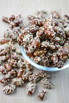food recipes, foods, almonds, candi almond, nut