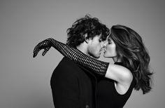 Marlon Teixeira & Stephanie Seymour by Terry Richardson