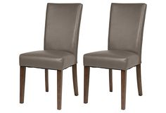 Shenfield dining chairs - these would look nice with a weathered wood table