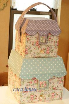 craft, artesanato, caixa decorada, cartonnag, box, cartonagem