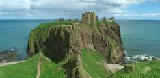 """Dunnottar Castle...one of the most beautiful Scottish castles..and one of the first places I ever 'paddled"""" (what Ian calls wading;) in the sea...."""