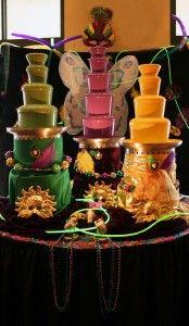 Mardi Gras Party  - Chocolate Fountains