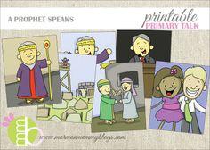 A Prophet Speaks King Benjamin Primary Talk | Mormon Mommy Printables