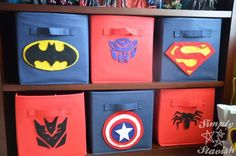 comic book inspired bedroom   left of book shelf book shelf pottery barn kids canvas