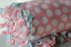 No-Sew Blankets - girl. Inspired.