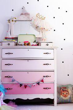 Eclectic girl's nursery   100 Layer Cakelet