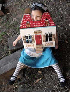 Alice Cardboard Box Costume by Karen for Misha Lulu