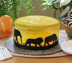 Lion King Cake. There's no better occasion than a baby shower to serve up a special dessert that pays tribute to the circle of life.